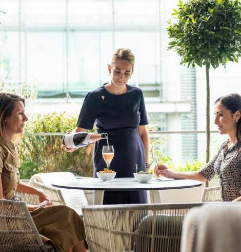 Angler Launches Its Summer Bar with Nyetimber