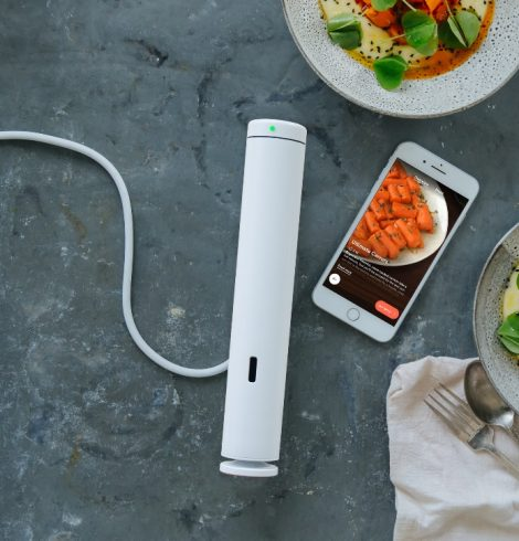 The Smallest and Most Powerful Home Sous Vide Tool