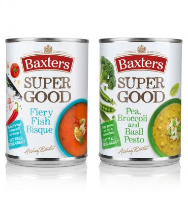 Baxters' Super Good Soups Are Available in Tesco Stores