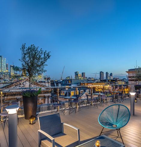 New Sophisticated Rooftop Bar at Shoreditch