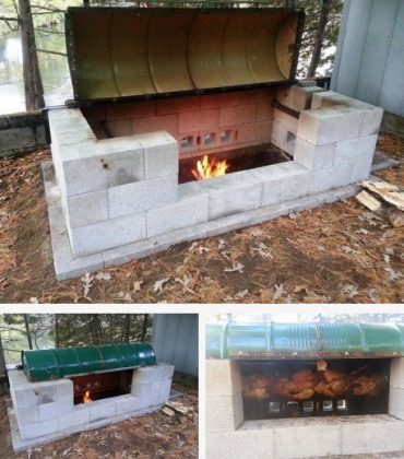 Building a barbecue pit for your garden