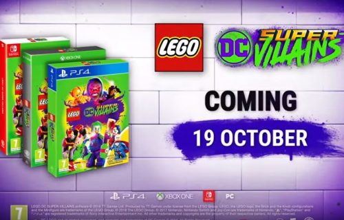 LEGO DC Super-Villains Is Coming to the UK
