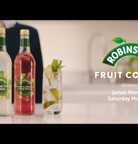 Robinsons Is the Official Sponsor of James Martin's Saturday Morning