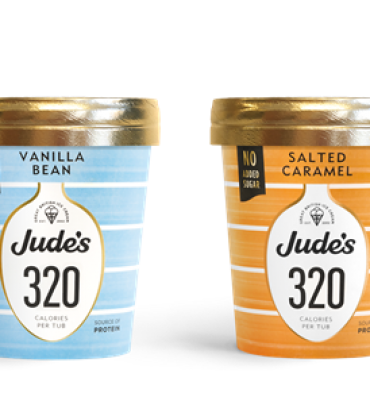Jude's Launches Low Calorie and Vegan Range