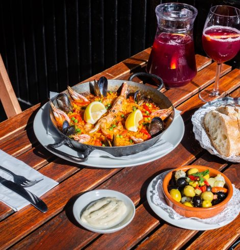Bottomless Paella at El Pirata Mayfair