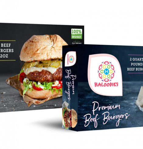 Haloodies Premium Gourmet Burgers at Morrisons