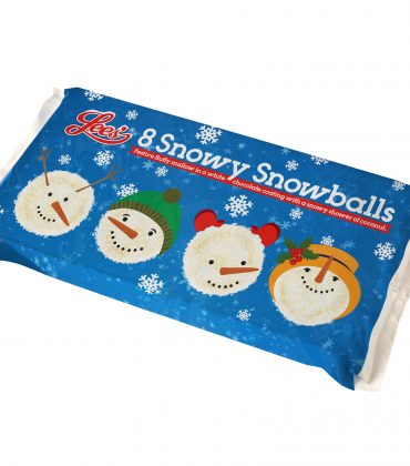 Limited Edition Christmas Lees Snowy Snowballs