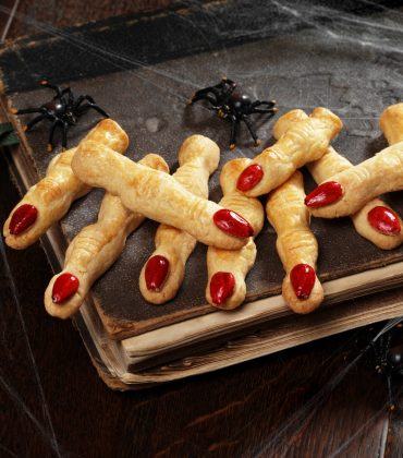 Dr Oetker's Shortbread Fingers for Halloween