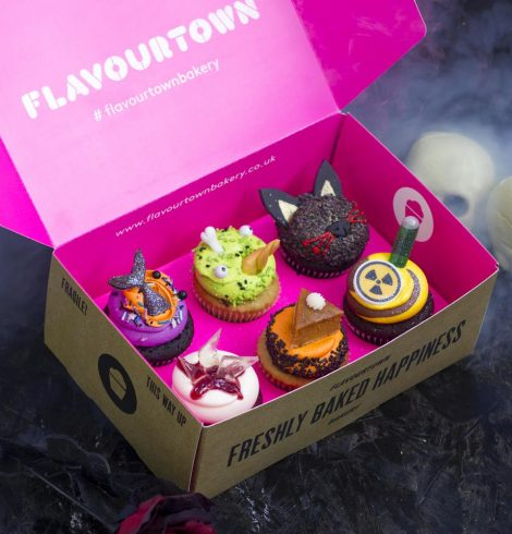 Flavourtown Bakery Creates the Spookiest Cupcake Box