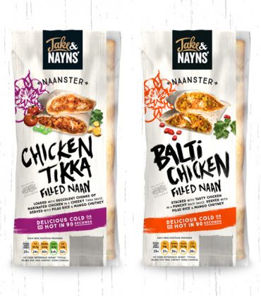 New Packaging for Jake and Nayns'