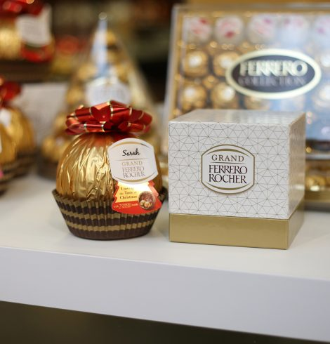 Ferrero Rocher Launches Personalisation Pop up for Christmas