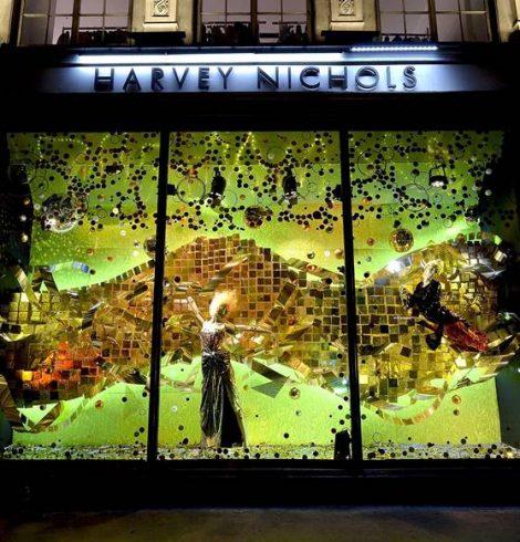 Harvey Nichols Unveils Its Christmas Windows