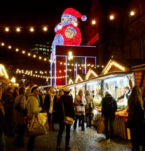 What to Expect From Manchester's Christmas Markets