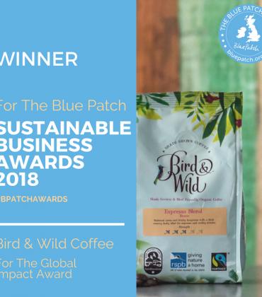 Bird & Wild Coffee Wins Sustainability Award