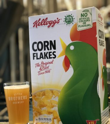 Perfect Pint Out of Kellogg's Corn Flakes