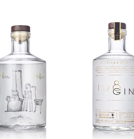108 Gin Distilled In-House at 108 Bar