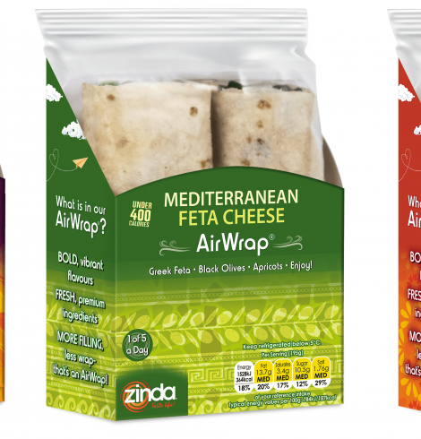 Zinda AirWrap Arrives in Tesco