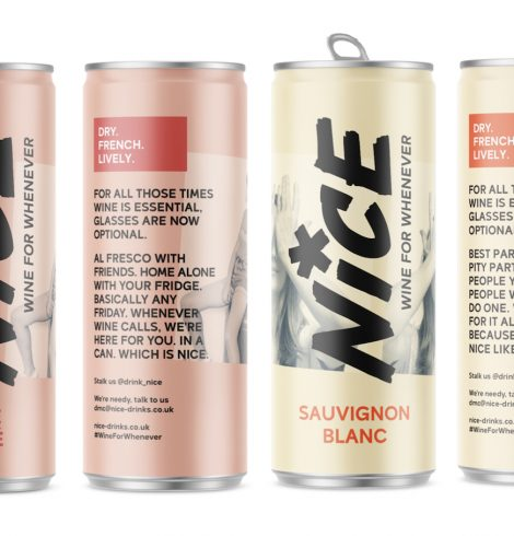 Nice Launches Canned Wine in Sainsbury's