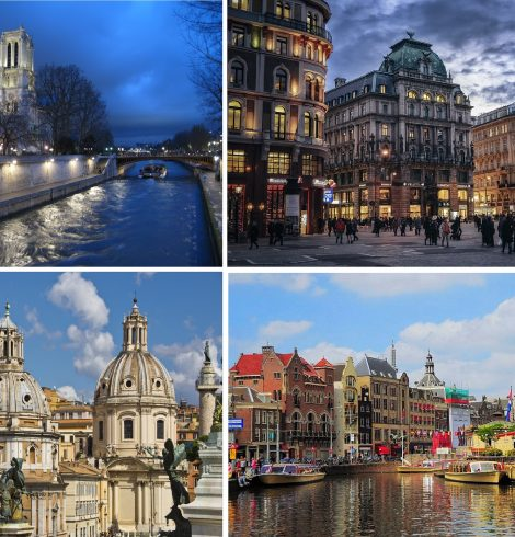 <strong>Europe&#8217;s Prettiest Cities To Visit</strong>