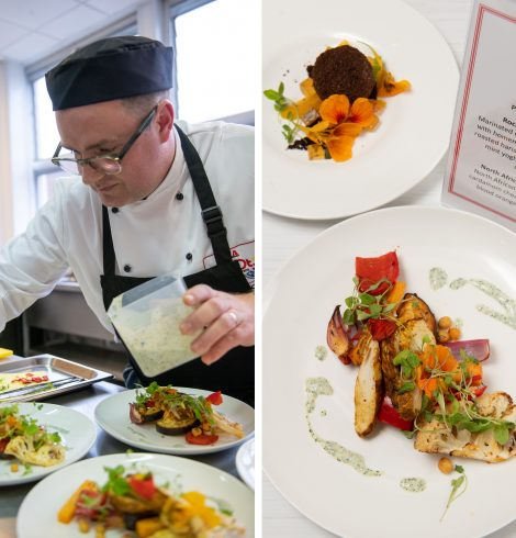 Hampshire Chef Named LACA School Chef of the Year