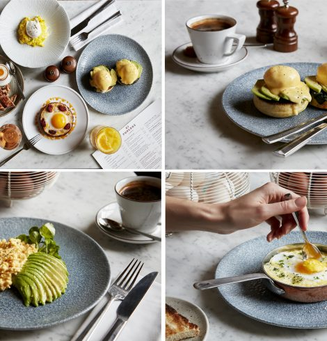 Eggstravaganza Breakfast at St Pancras Brasserie