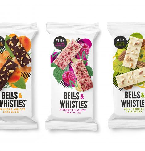 New vegan cake slices launch with all the Bells & Whistles