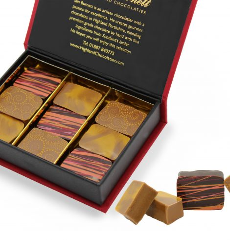 Highland Chocolatier Awarded Hat Trick by Academy of Chocolate
