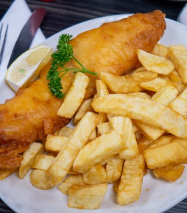 Have Faith in Fish and Chips on a Friday