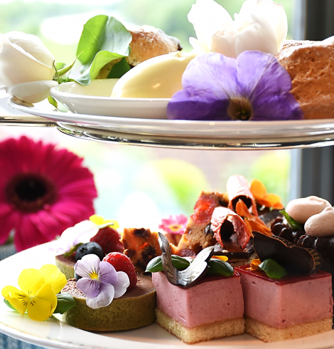 Celebrate Chelsea Flower Show with a Floral Afternoon Tea