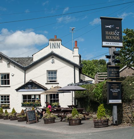 Try the Spring Menu at the Hare & Hounds