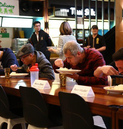 'Speed Eating' Competition at Bang Bang Oriental