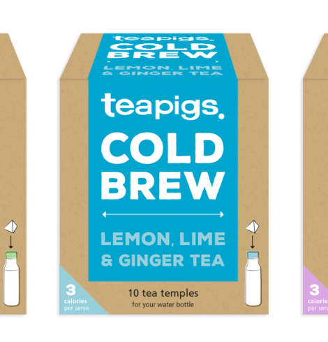 Teapigs Launches New Range of Iced Teas
