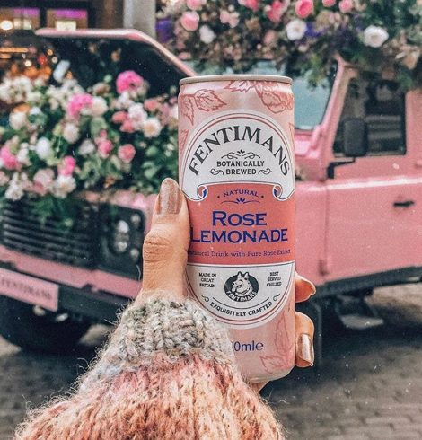 Spot the Fentimans Pink Land Rover this Summer