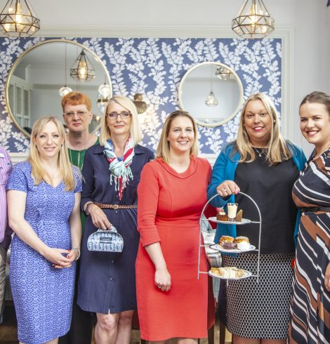 Laura Ashley The Tea Room in Cornwall now open