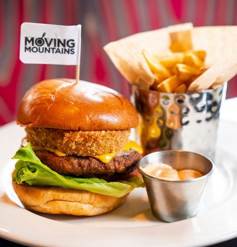 HARD ROCK CAFE TO SELL THE MOVING MOUNTAINS BURGER