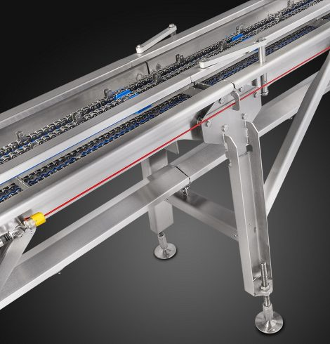 HYGIENIC CONVEYOR ENHANCES FOOD QUALITY AND SAFETY
