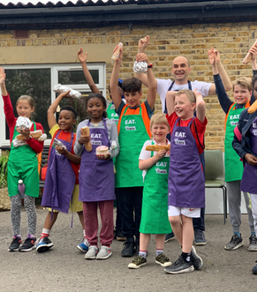 EAT. builds national partnership with children's charity initiative