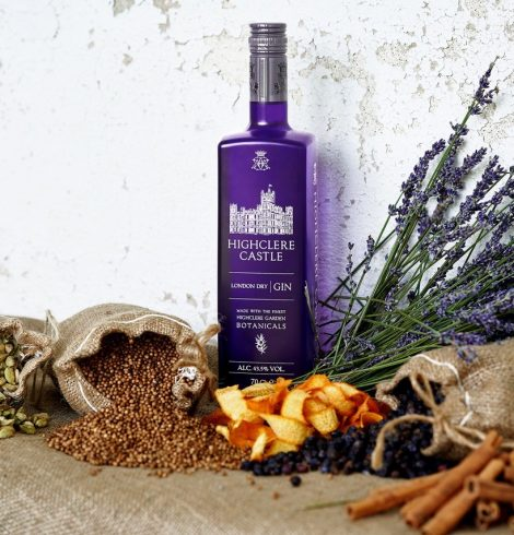 Highclere Castle Launches London Dry Gin