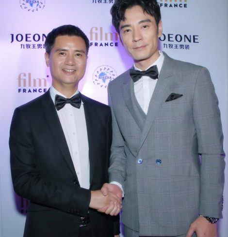 """Joeone"" was the only designated menswear brand at the official dinner of Cannes Film Festival"