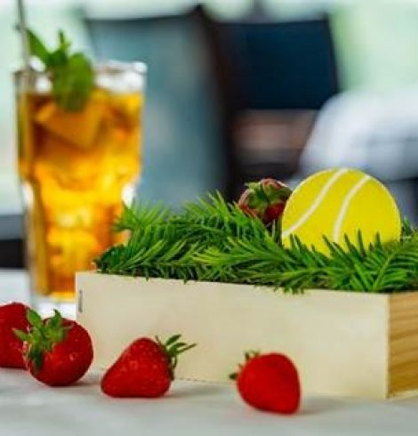Game, set, match! The Petersham Restaurant serves up a winning dessert for Wimbledon