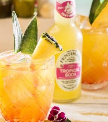 NEW FENTIMANS TROPICAL SODA, MADE FOR BARTENDERS, BY BARTENDERS.