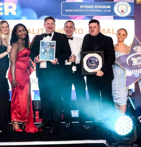 F3 Celebrates Shining Star Award at the Stadium Experience Awards