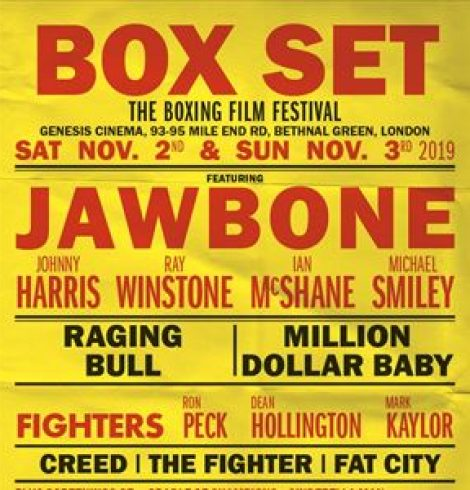 Ray Winstone joins boxing stars and filmakers at Box Set – the UK's first boxing film festival