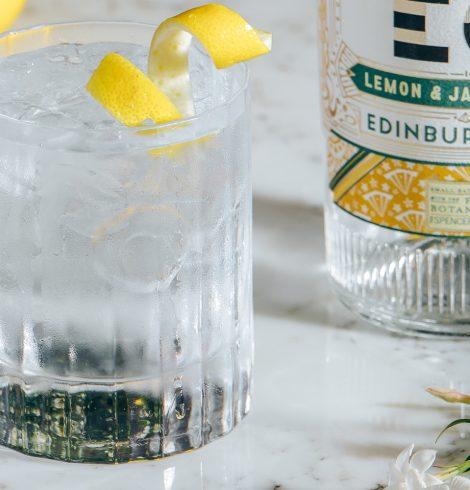 Lemon & Jasmine Launch: Edinburgh Gin Unveils New Full-Strength Flavoured Gin