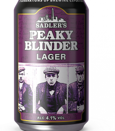 New Sadler's Peaky Blinder Craft Lager Enters Canned Territory