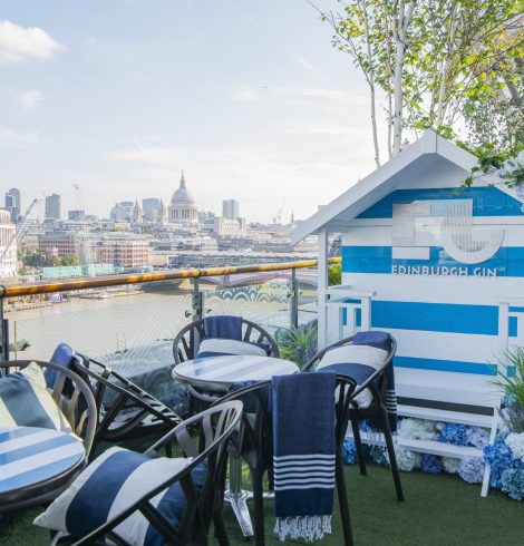 Edinburgh Gin Unveils OXO Tower Partnership
