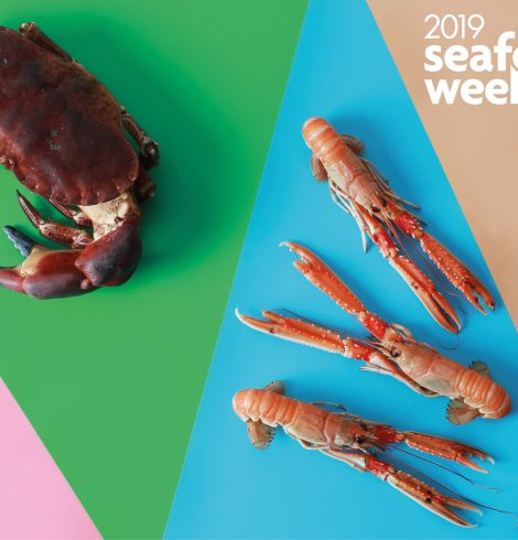 National Seafood Week, championing the quality and variety of seafood available in the UK.