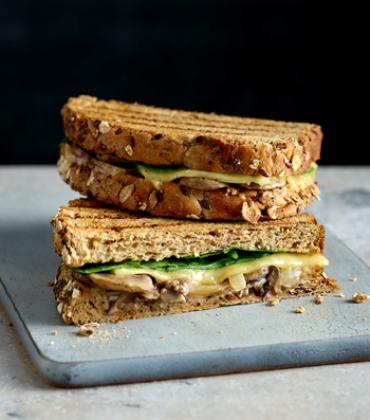 EAT. launches Mushroom Melt, a new vegan smoked 'Gouda' cheese toastie.