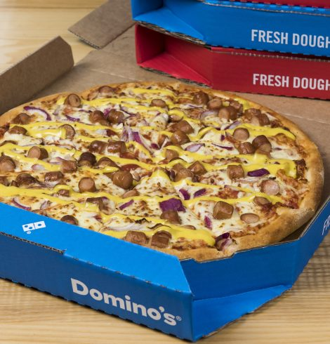Domino's Launches the New York Hot Dog Pizza
