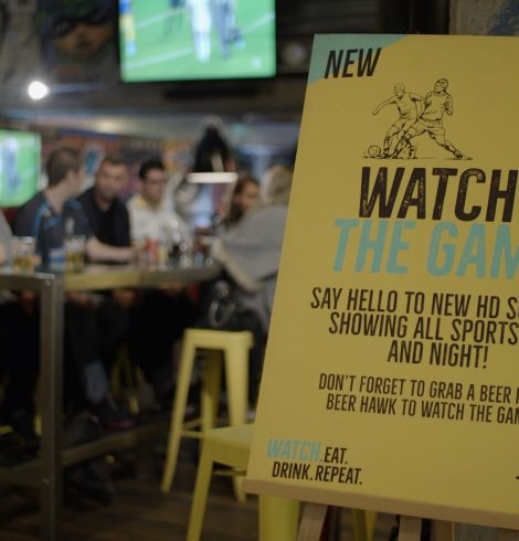 Self-Serve Beer, Stadium Seating and Live Sport at The Dugout